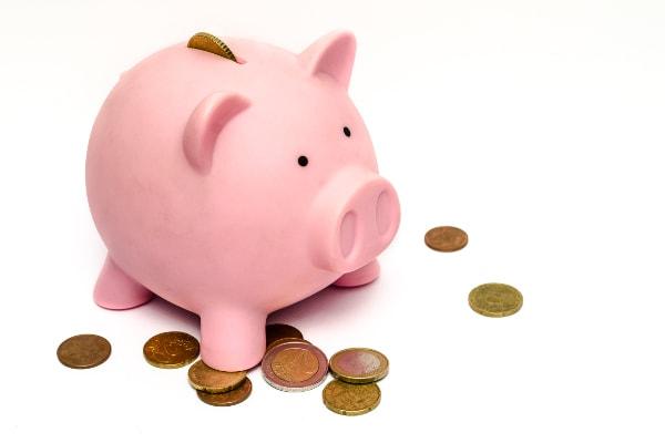 oszczędność pieniędzy, świnka-skarbonka