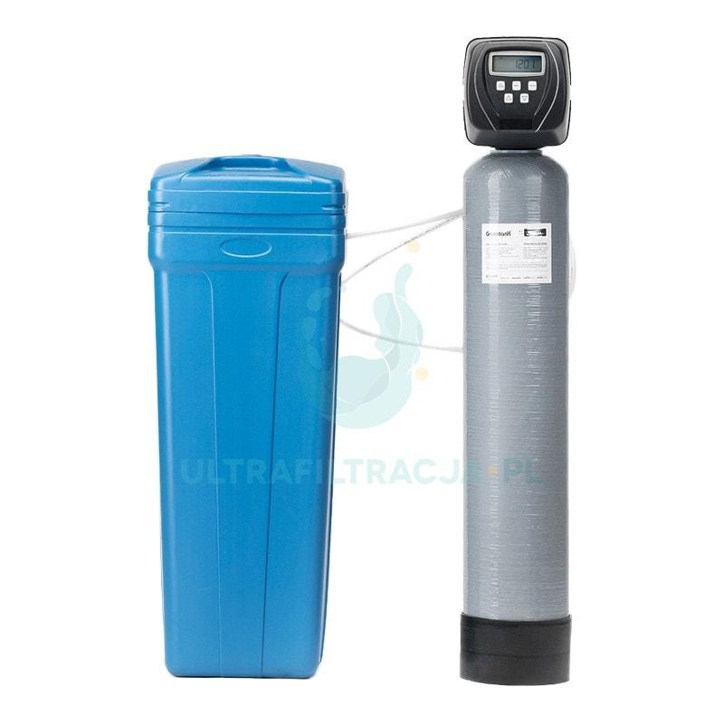 dwuelementowy zmiękczacz wody ze zbiornikiem