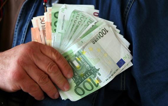wachlarz pieniędzy