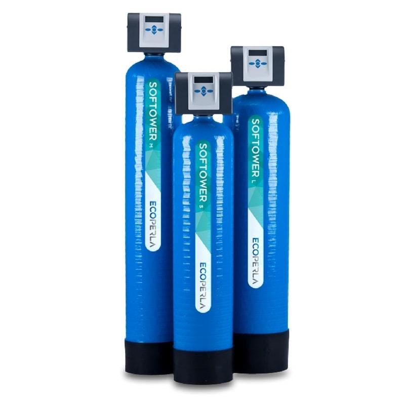 Dwuelementowy zmiękczacz wody Ecoperla Softower